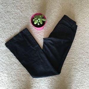 CAbi Flare Dark Wash Jeans Sz 2